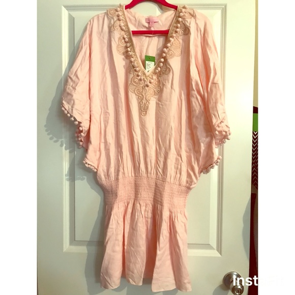 444fc86c42f464 Lilly Pulitzer Dresses | Vea Tunic Dress In Paradise Tint | Poshmark